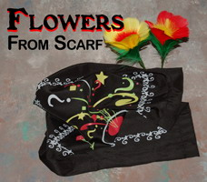 APPEARING FLOWERS FROM SCARF