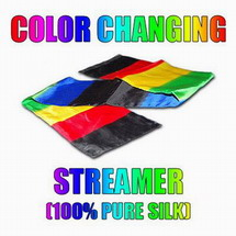 COLOR CHANGING SILK STREAMER