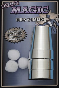 CUPS AND BALLS - CHROMED FINISH - SALE - SAVE $2.00 - REG $7.98 - NOW $5.98