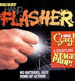 SECRET SPARKING HAND FLASHER - FUNKENRING